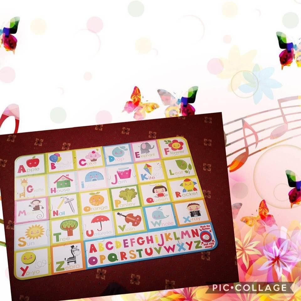 Giant Musical Floor Puzzle