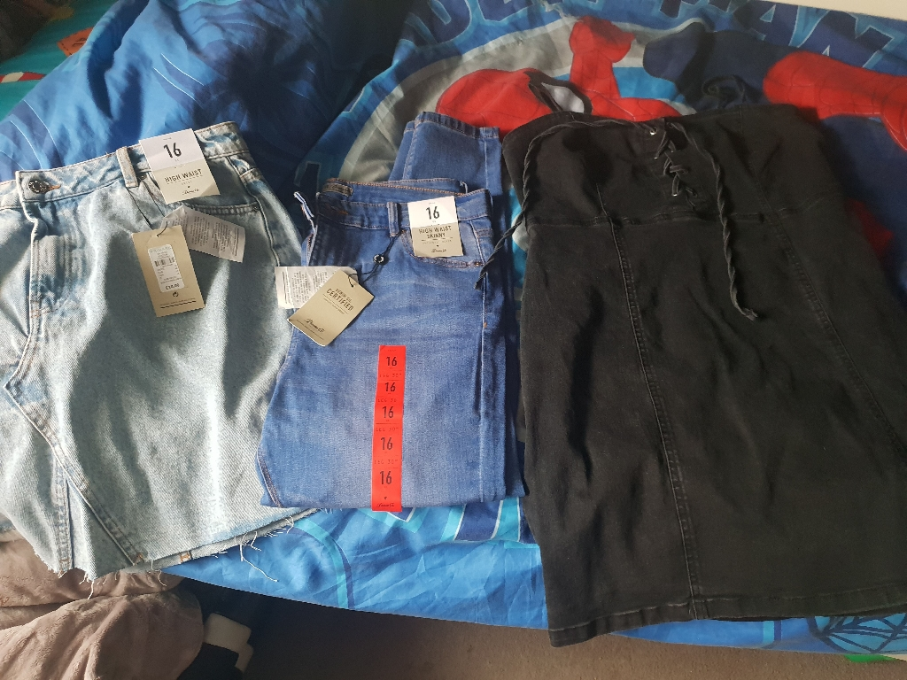 Brand new size 16 women's clothes