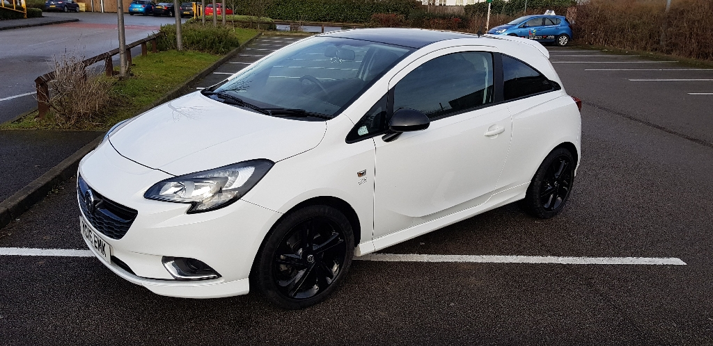 1.0 limited edition Vauxhall Corsa in Olympic White