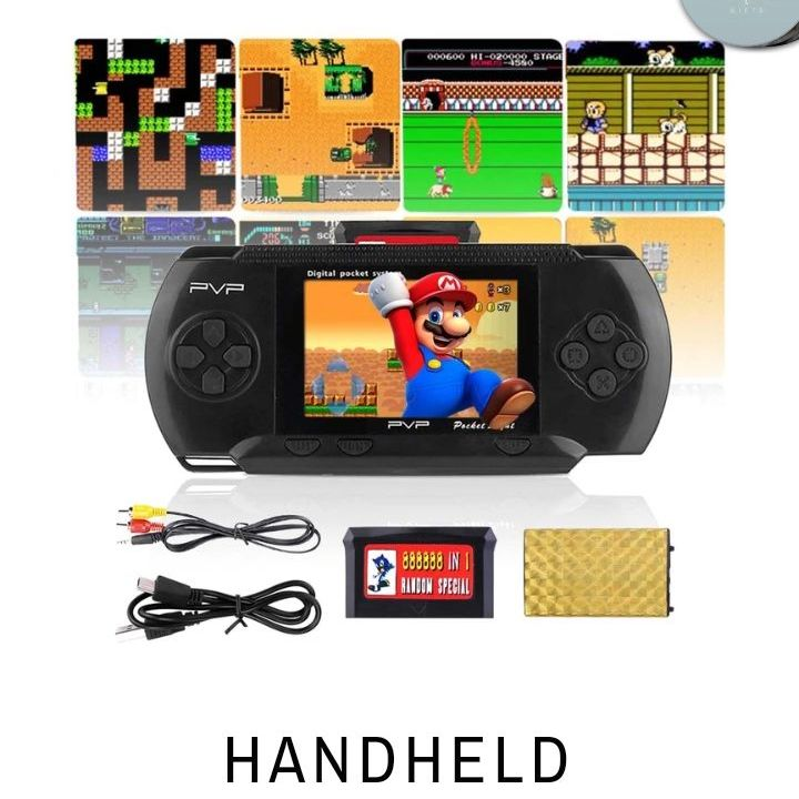 Hand held portable games console
