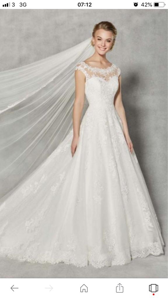 Anna Sorrano WED2B wedding dress size 12