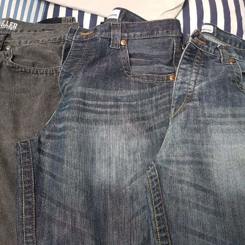 3 x mens jeans Size 34R