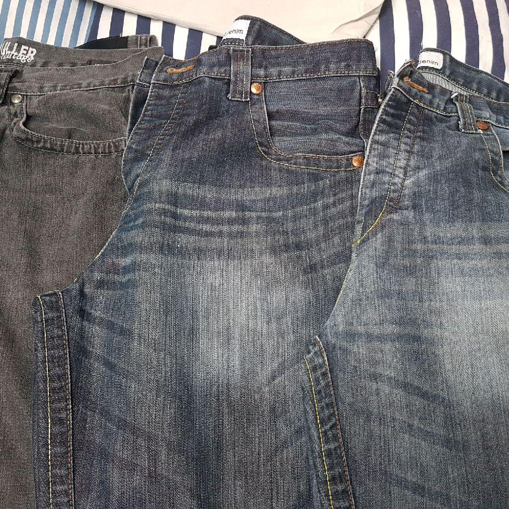 3 x mens jeans Size 34R