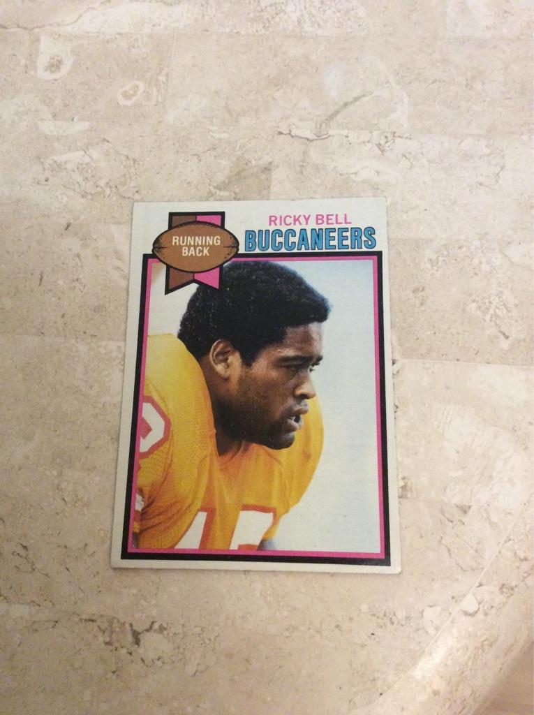 Ricky Bell 1979 Topps card