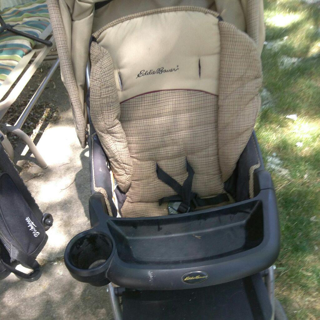 Eddie Bower stroller