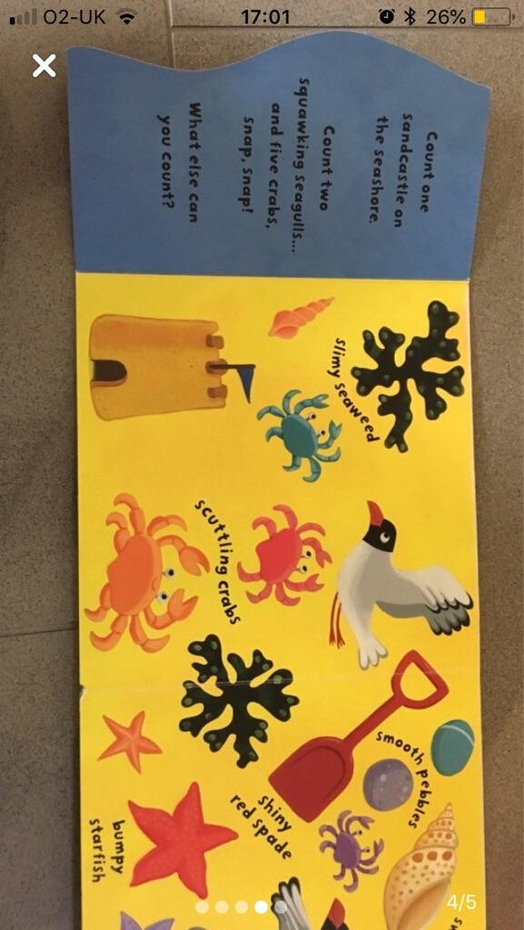 Children's 'sea' book