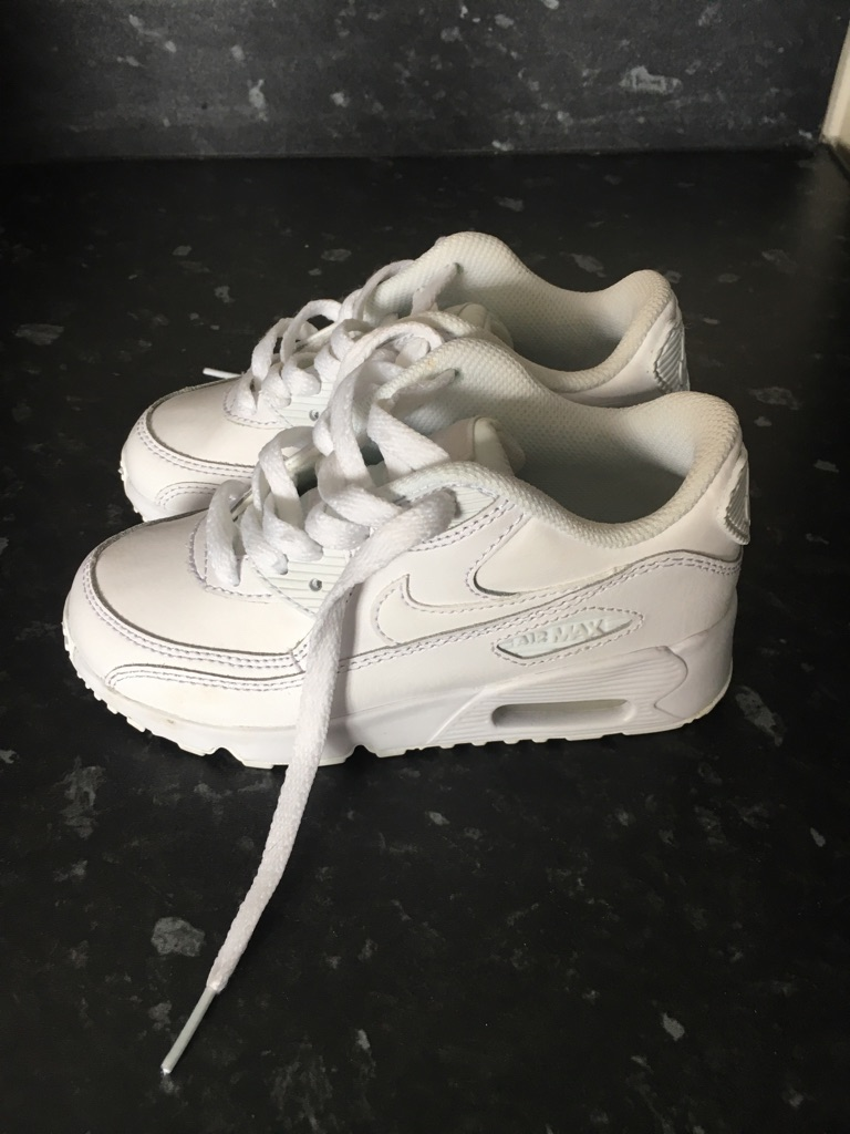 Kids Nike Air Max trainers