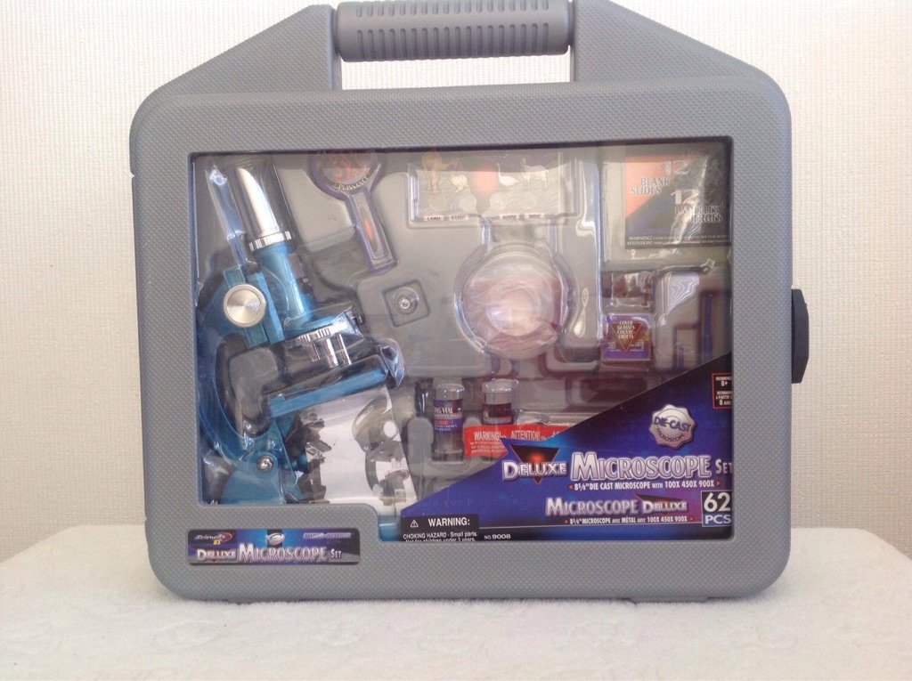 Deluxe Microscope Set with Carry Case NEW