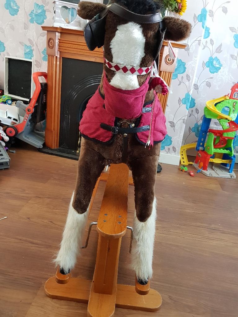 Mamas and papas solomon rocking horse