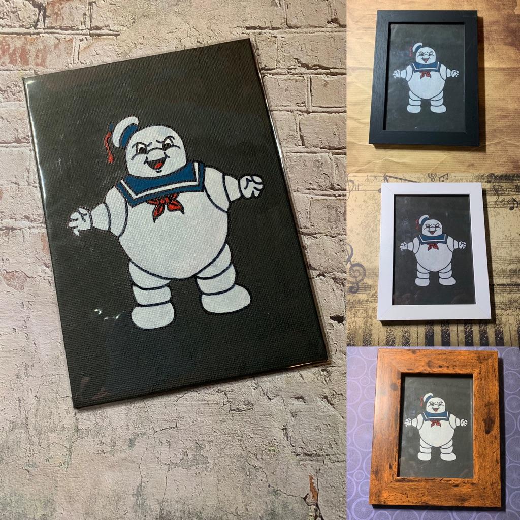 Canvas fan art