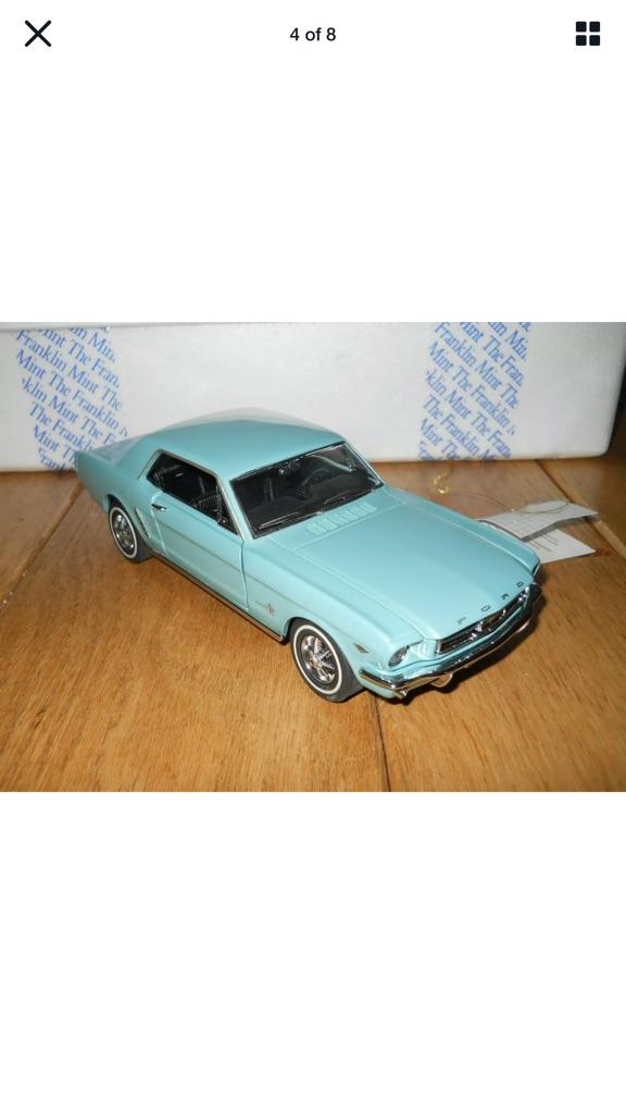 Franklin mint 19 64 1/2 Ford