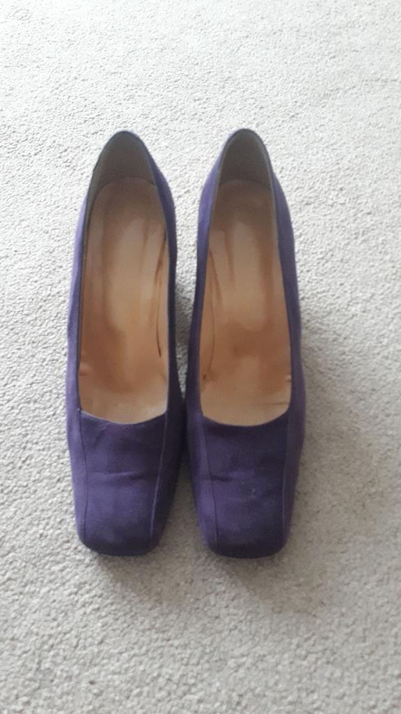 Purple Shoes - Size 6