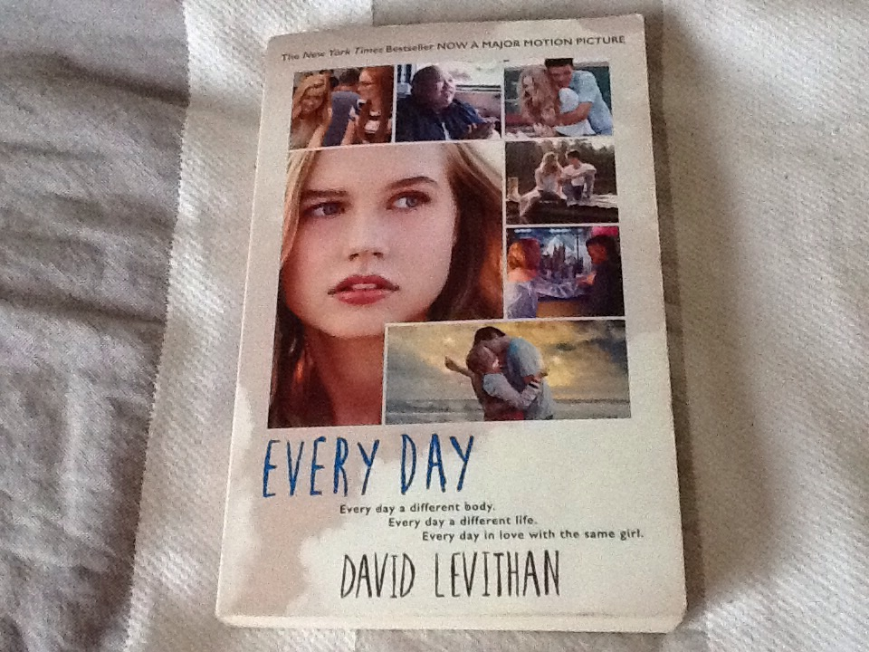 Every Day by David Levithan (paperback)
