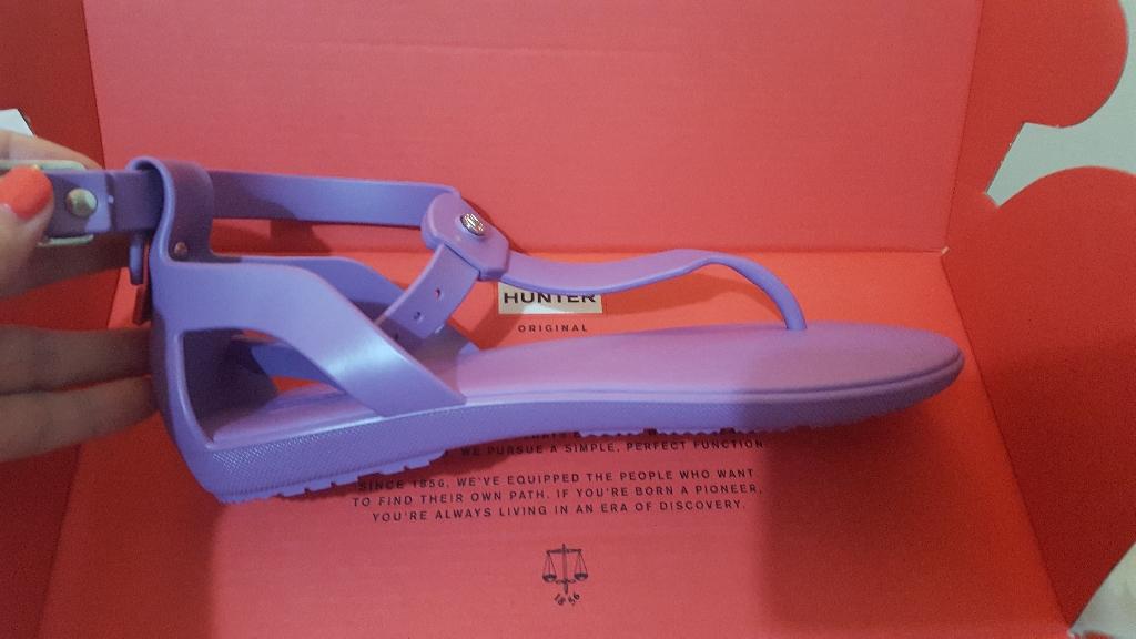 Hunter sandals bnib