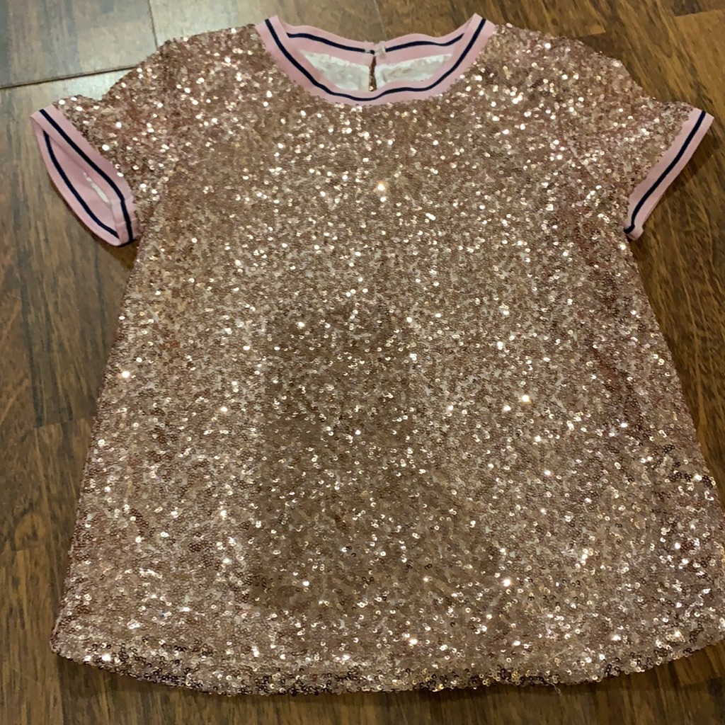 Pink sparkly Ted Baker Top 11 years