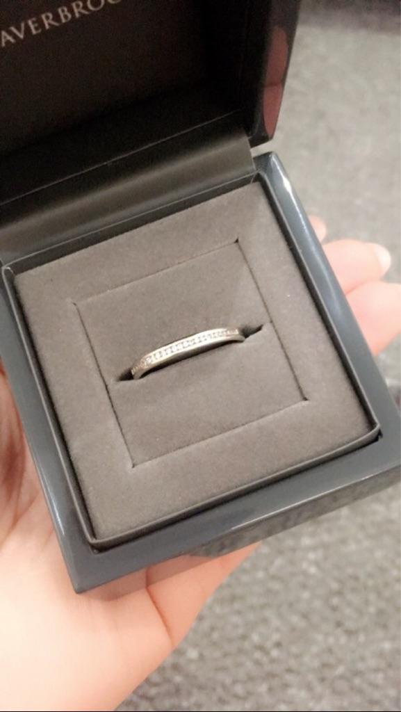 Beaversbrooks Eternity Ring