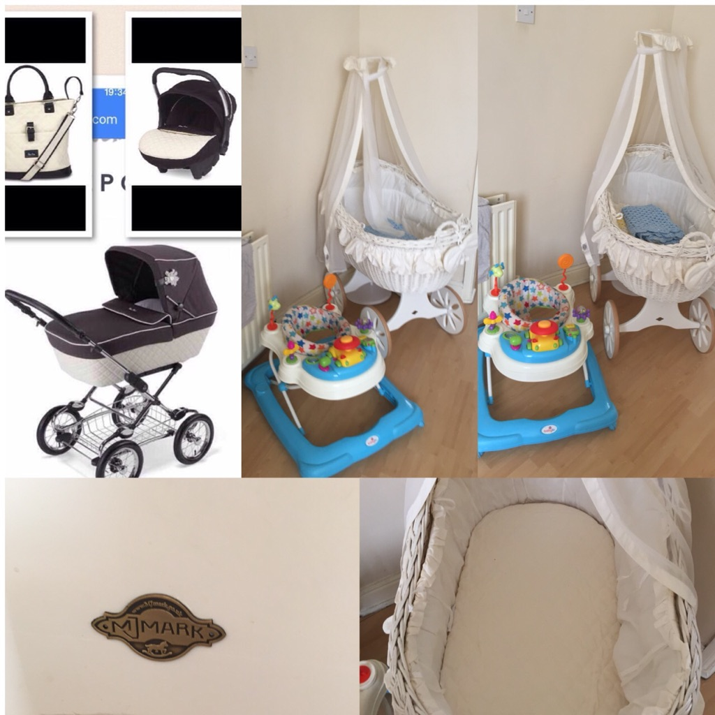 pram carseat crib walker