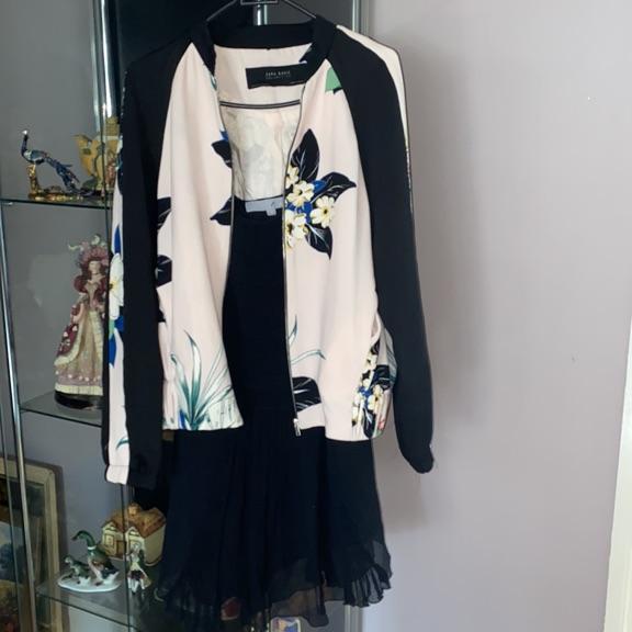 Next silk shirt size 8 and Zara top size 10