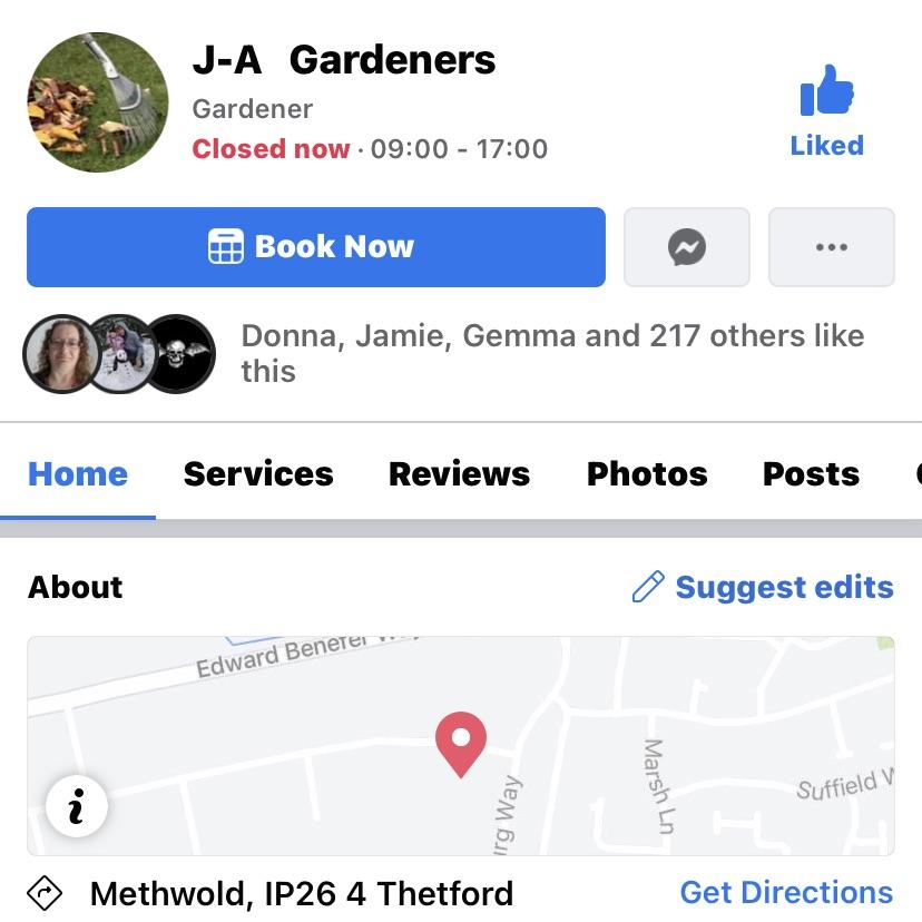 J-A gardens