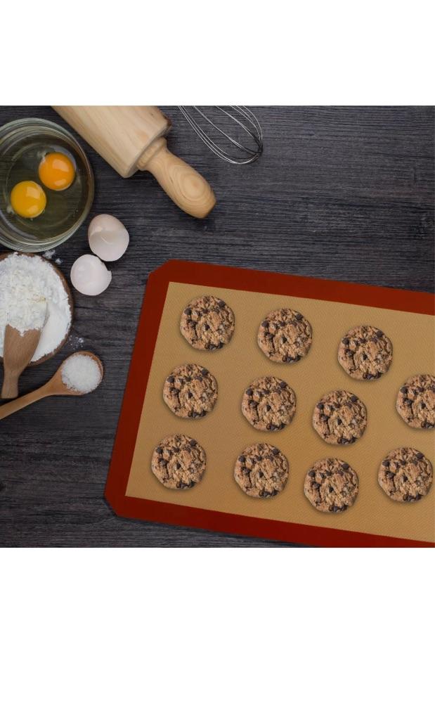 Silicon Baking Mats Non-Stick Reusable & Washable 5 Pieces