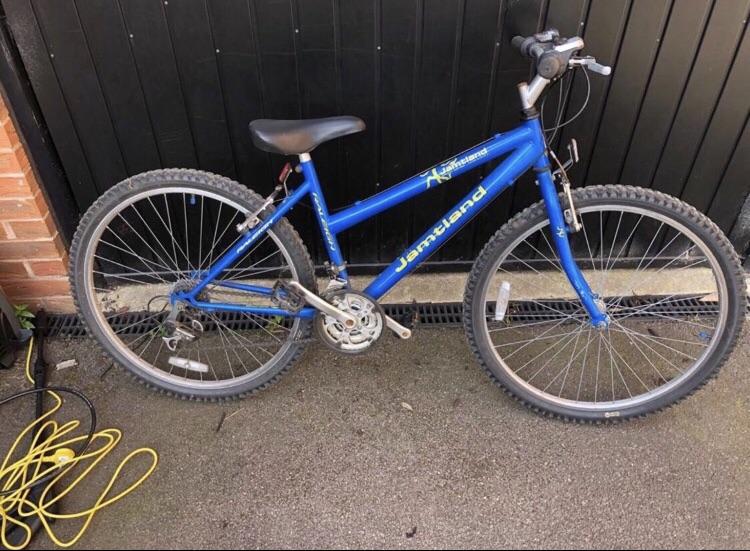 Blue jamtland Mountain Bike