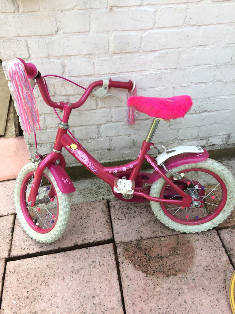 Raleigh Molly girls bike for 3-6 year olds