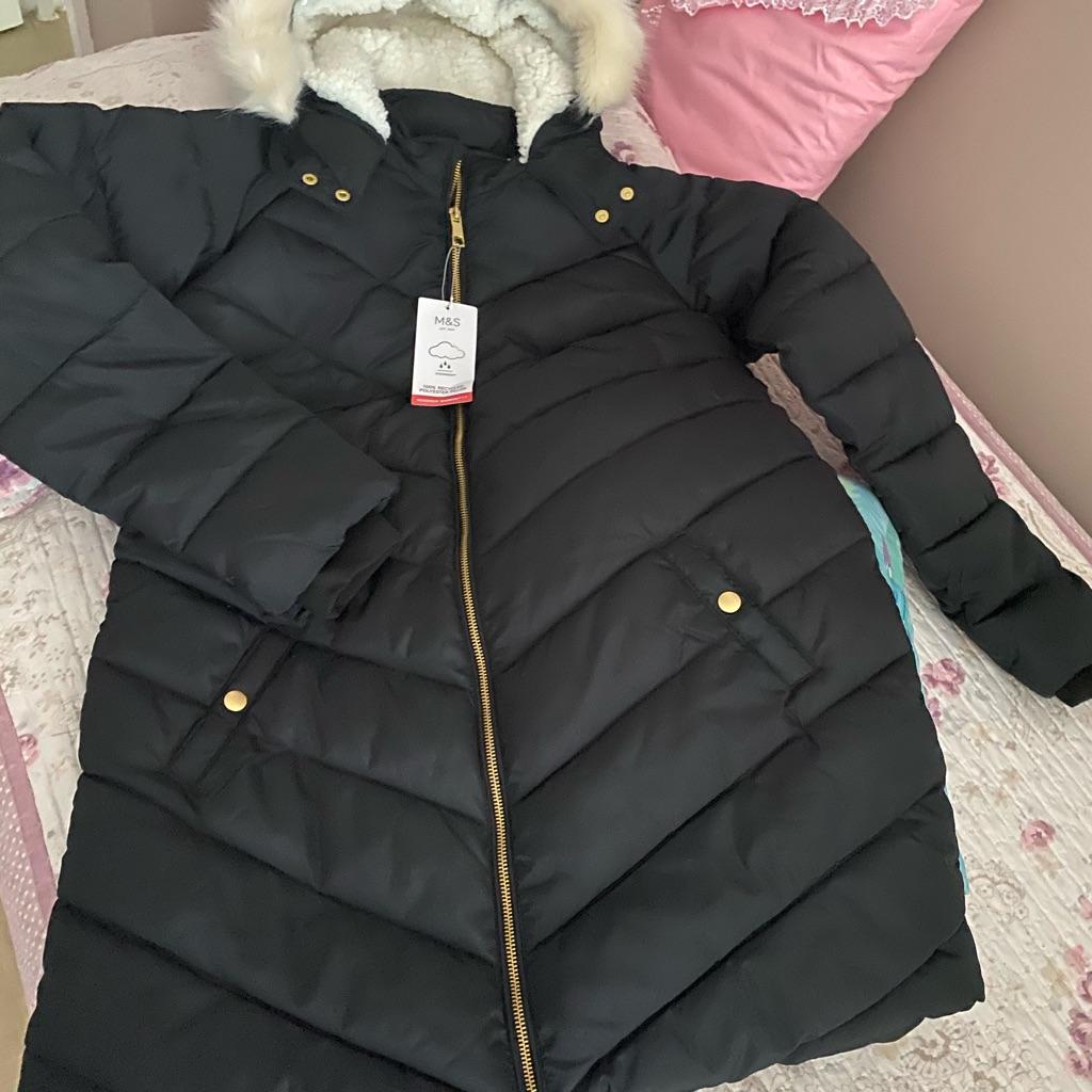 M&S girls coat 13/14 years