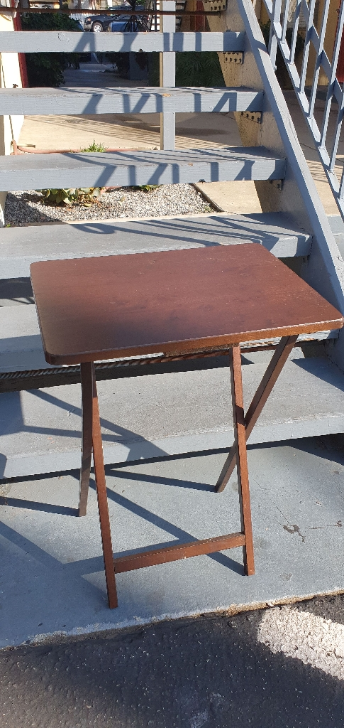 Brown Folding Dining Table