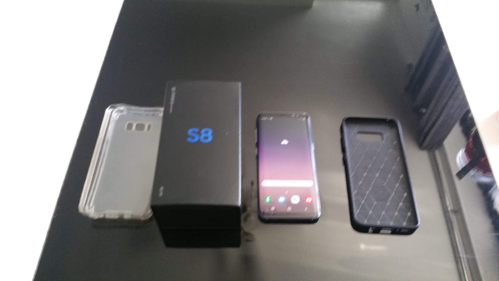 Samsung S8 64GB lock on Vodafone