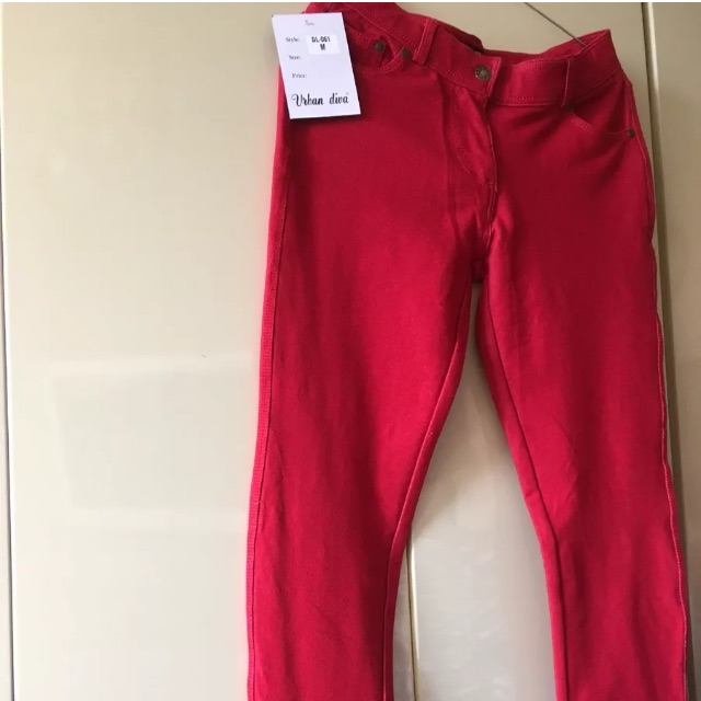 Lady's stretch trousers