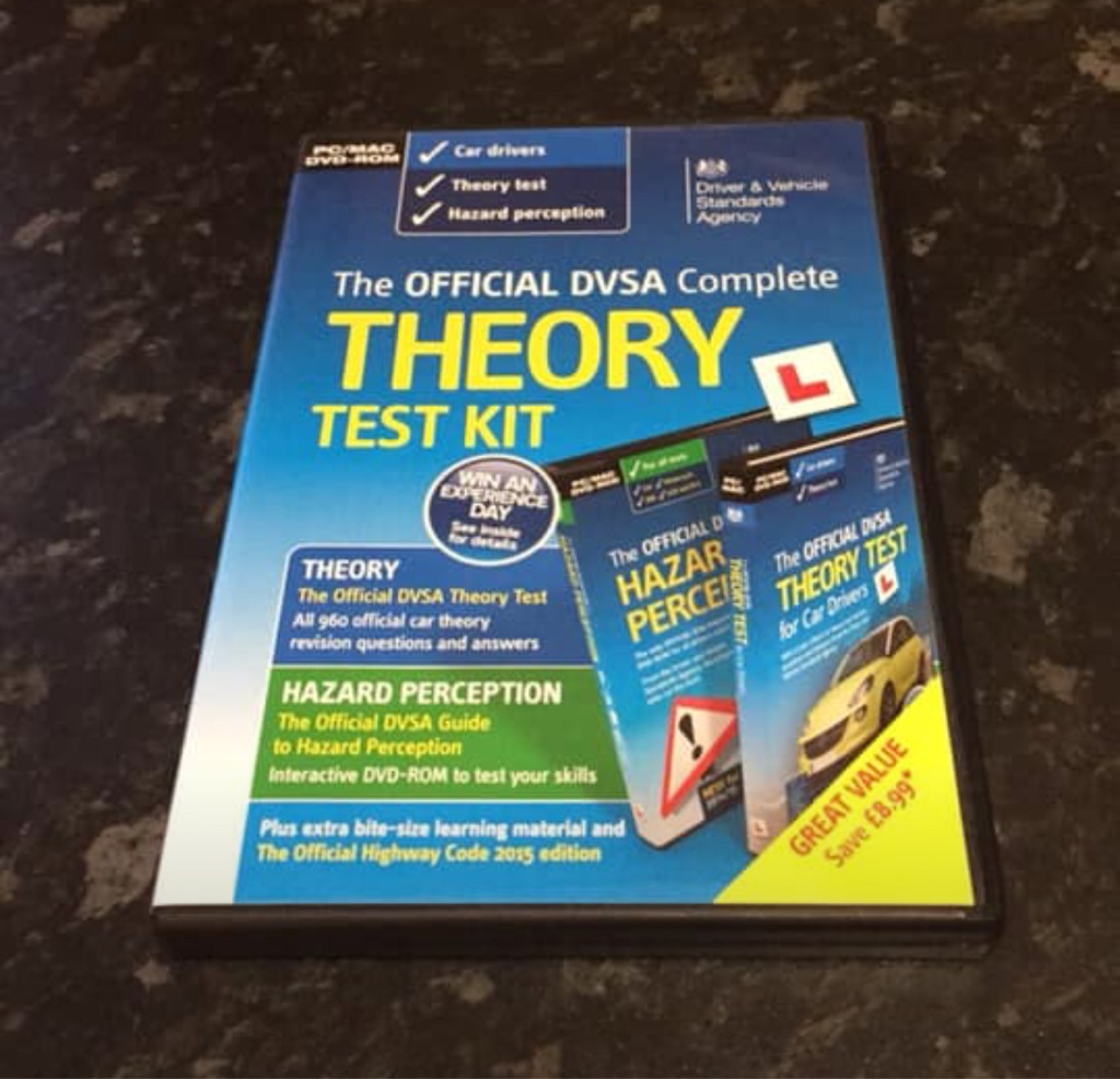 Theory test DVDs