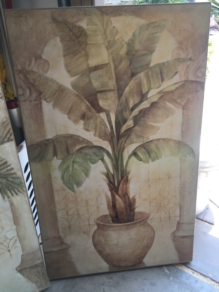 Palm decor