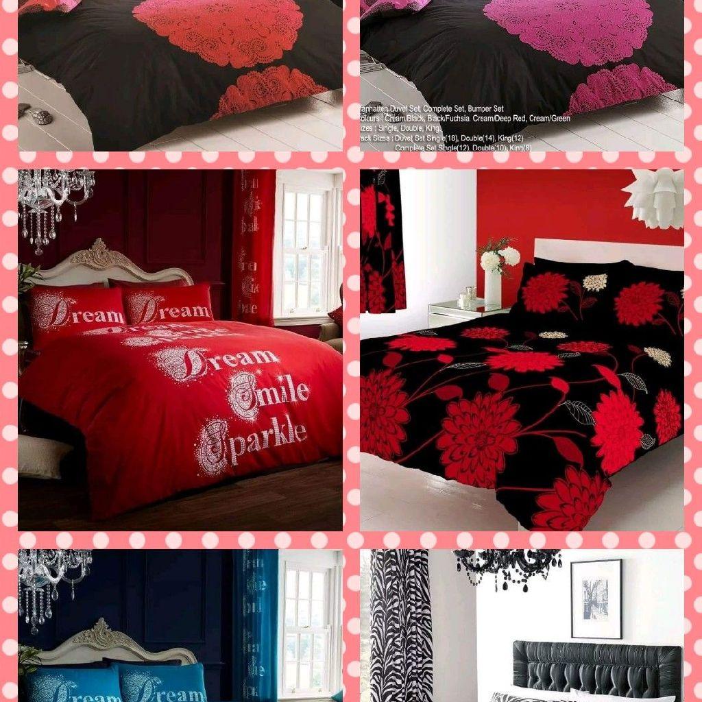 8  piece bumper bedding curtain set