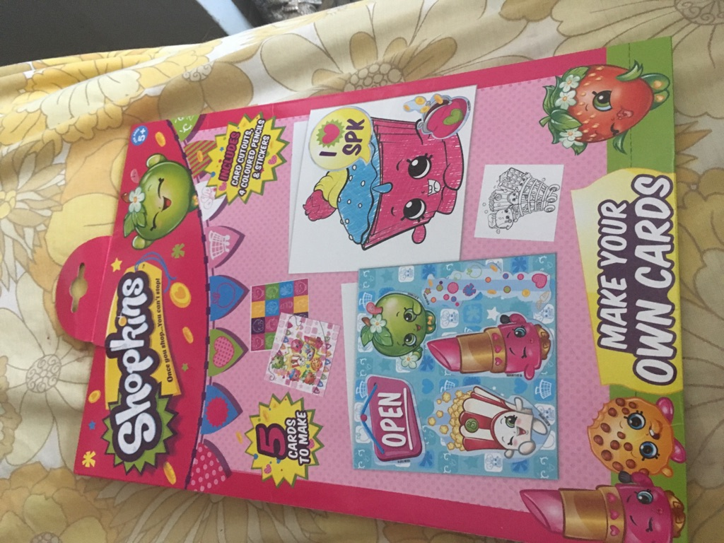 Brand new shopkins cards