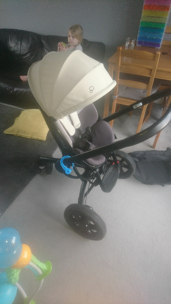 Quinny Moodd pushchair Grey