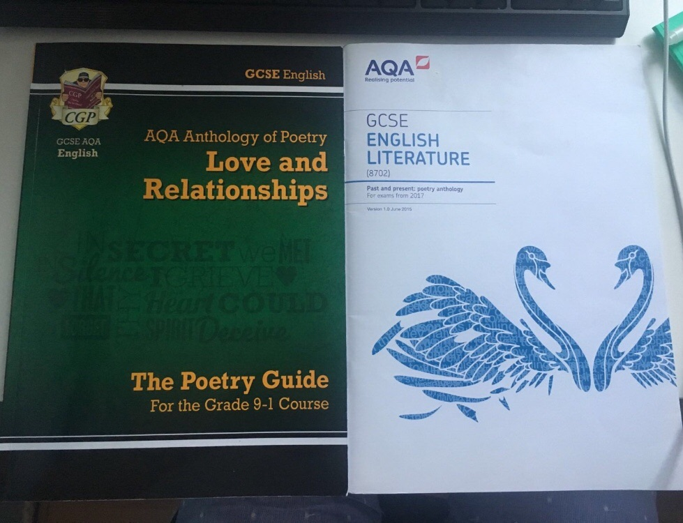 GCSE AQA Love & Relationships Anthology Poetry SET