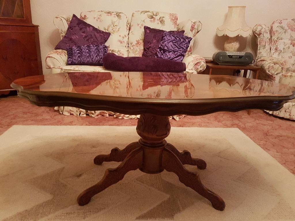 Italian Inlaid Mahogony effect Coffee Table