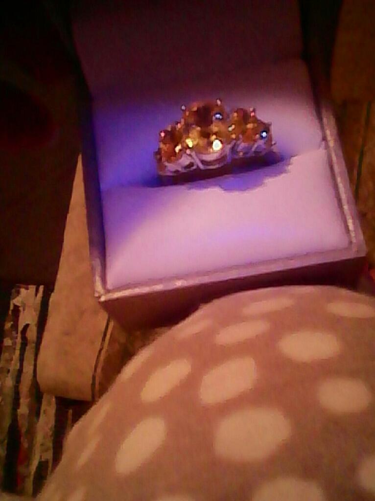 Genuine Citrine Ring...$50. Firm