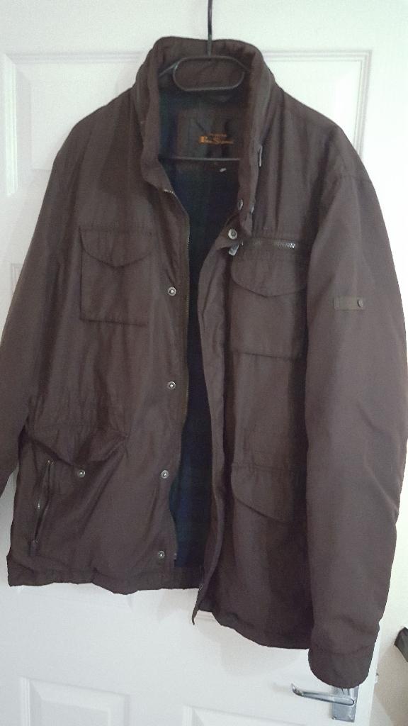 Ben Sherman Brown Jacket size XL