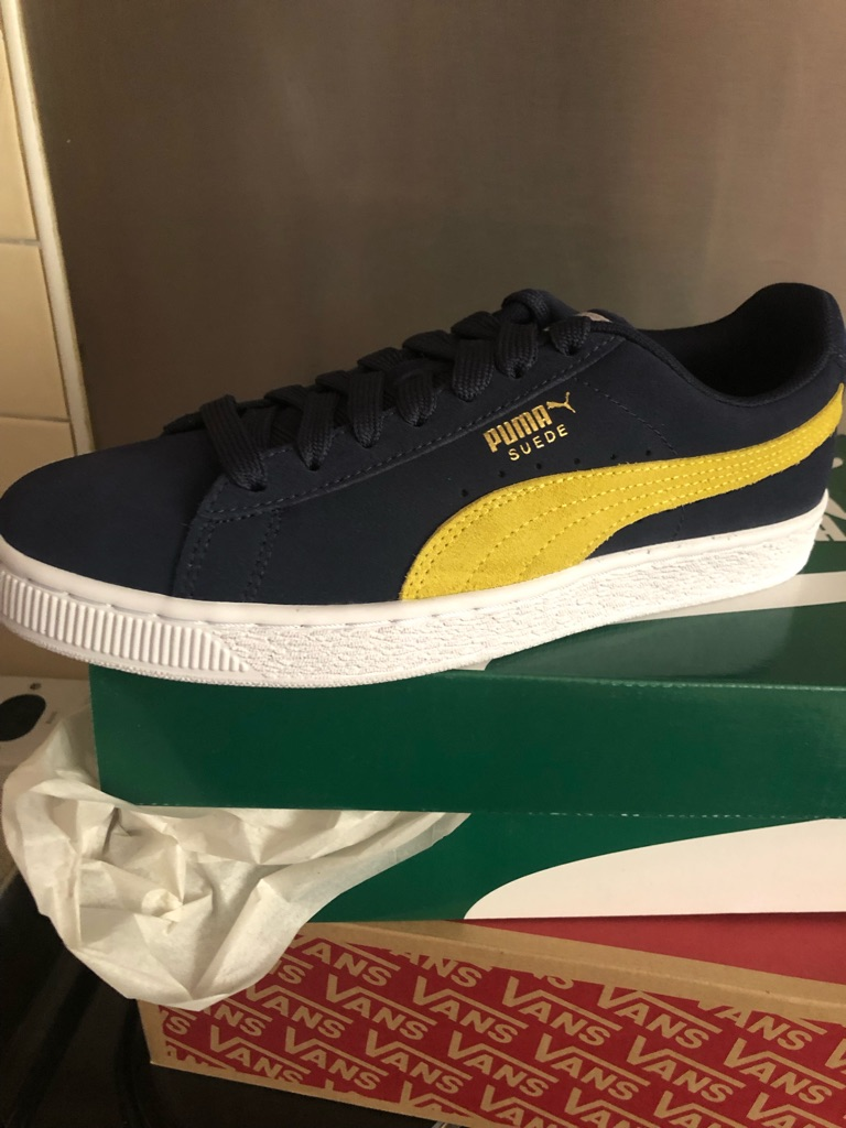 Puma classics size 6