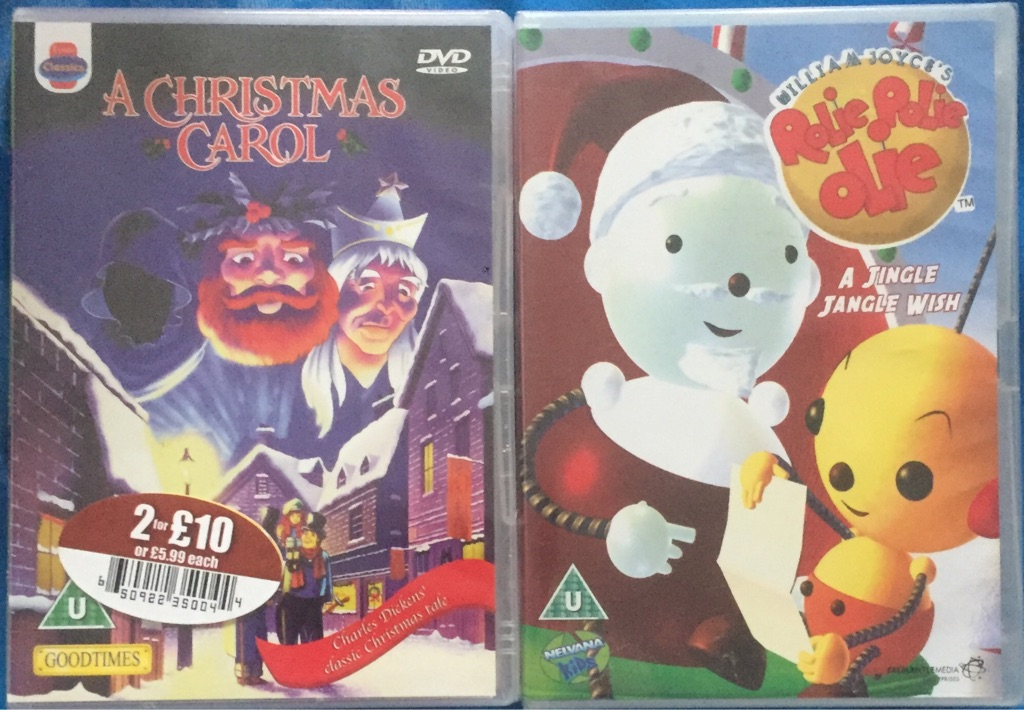 X2 childrens DVD's brand new and factory sealed