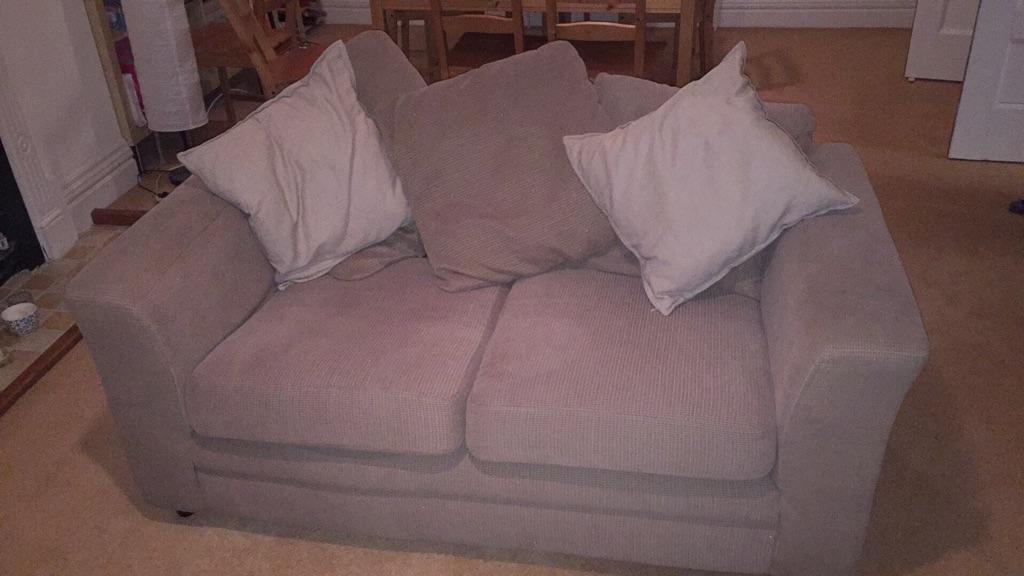 FREE 2 x 2-seater sofa