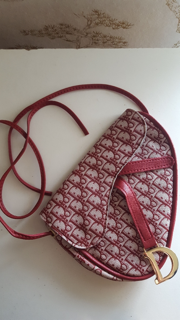 Extra glam Bag Red