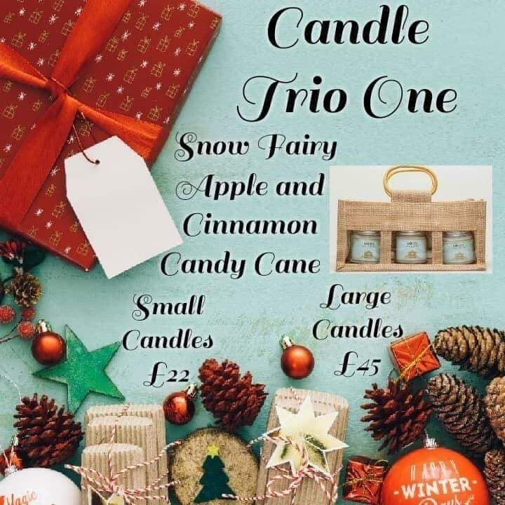 Christmas Scented Candle Bundle