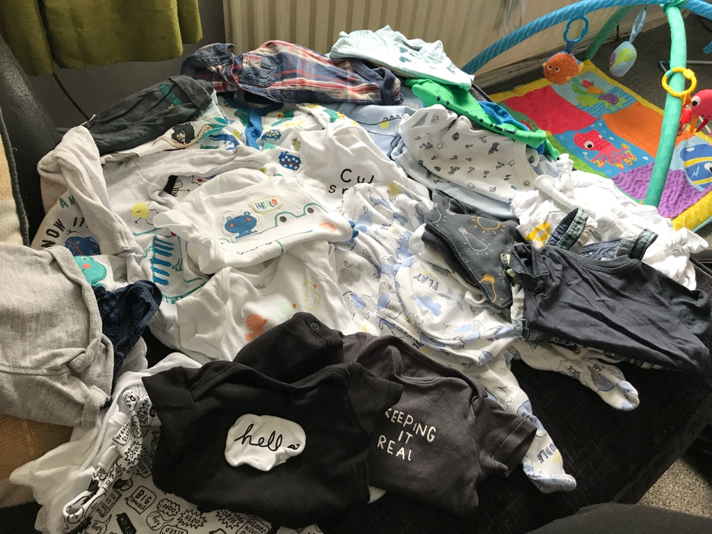 Baby boy clothes tiny baby to newborn