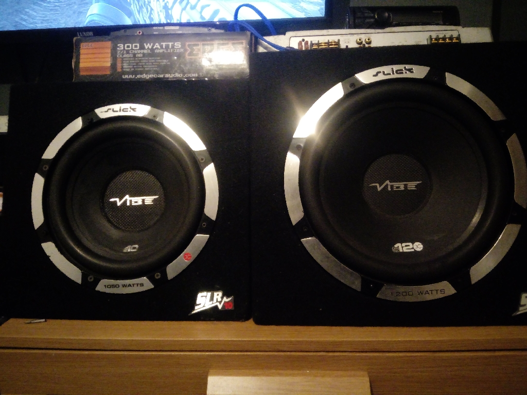 Vibe subwoofers