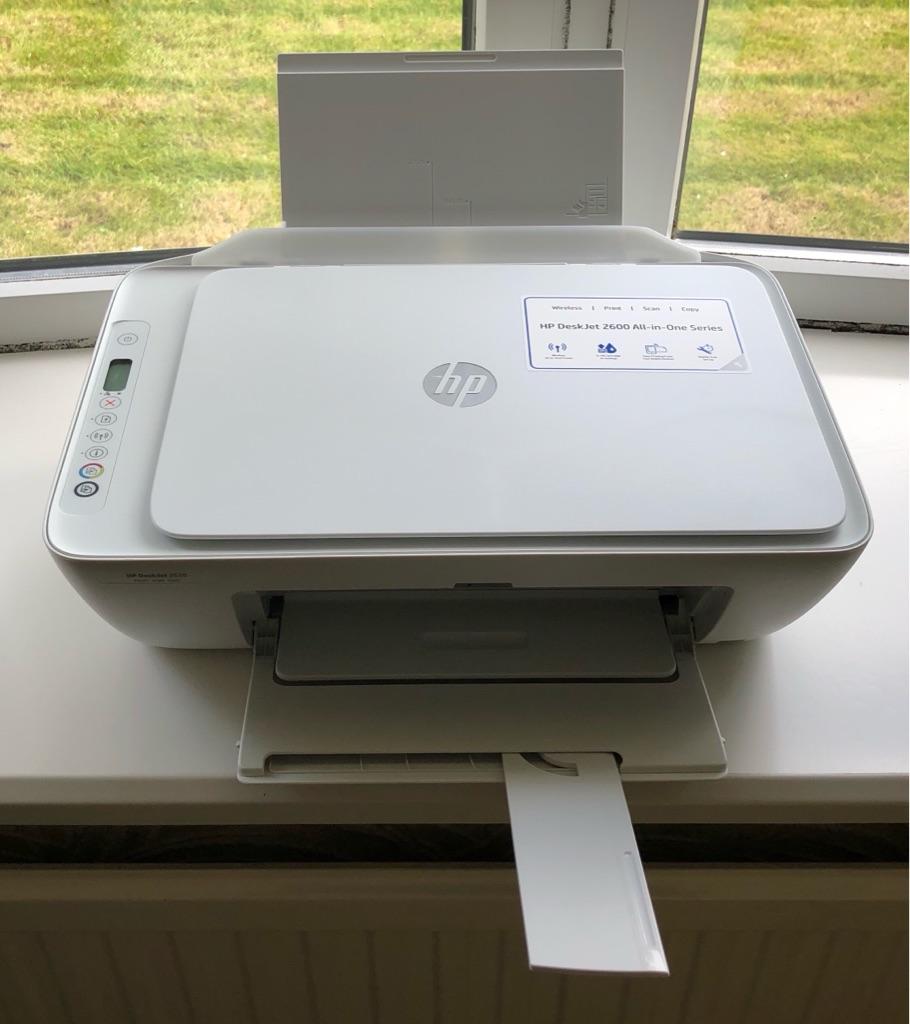 HP DESKJET 2620 ALL IN ONE WIRELESS INKJET PRINTER