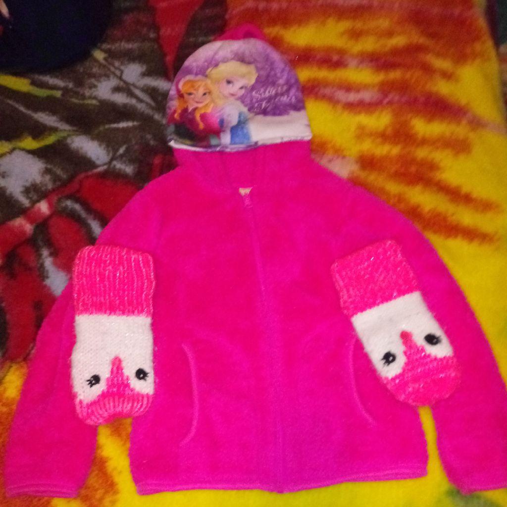 4t Jacket Mittens Hat