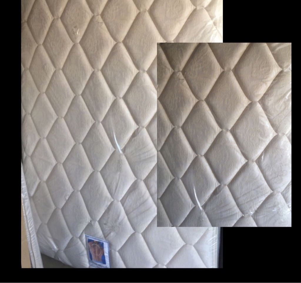 Plush comfort mattress set