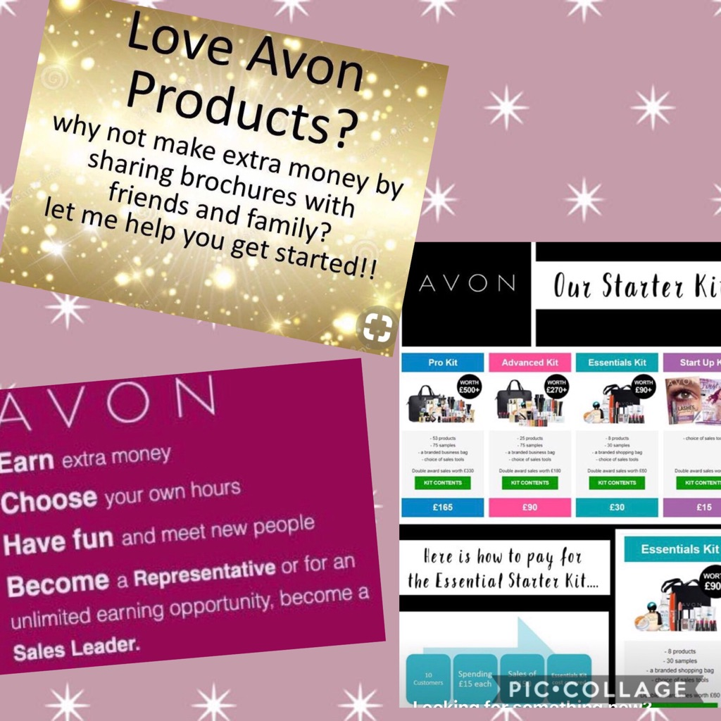 Join Avon to earn extra cash